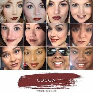 Cocoa Lipsense sealed